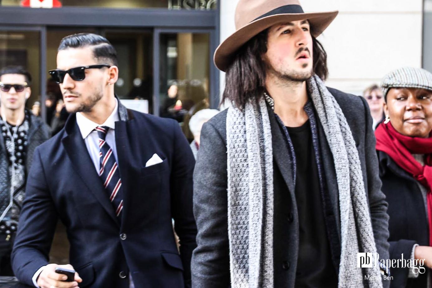 Porter une charpe les diff rents styles - Nouer une echarpe ...